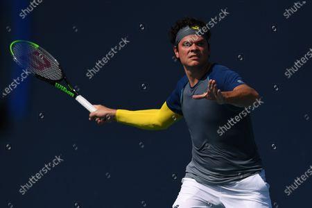 Stock Picture of Milos Raonic