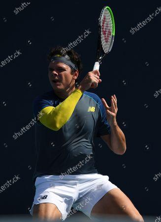 Editorial photo of Miami Open tennis tournament, Hard Rock Stadium, Miami Gardens, Florida, USA - 30 Mar 2021