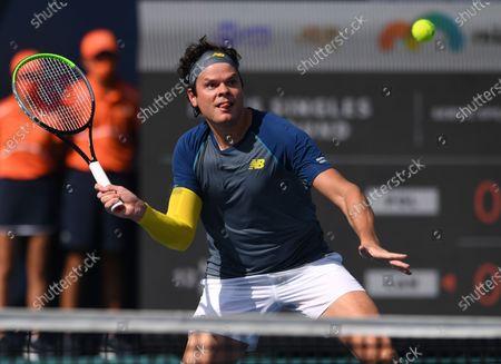 Editorial picture of Miami Open tennis tournament, Hard Rock Stadium, Miami Gardens, Florida, USA - 30 Mar 2021