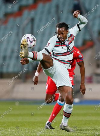 Portugal's Renato Sanches in action during the FIFA World Cup 2022 qualifying soccer match between Luxembourg and Portugal in Luxembourg, 30 March 2021.