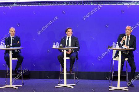 Jean Francois Cope, Christian Jacob and Olivier Marleix.