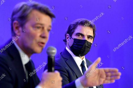 Francois Baroin and Christian Jacob
