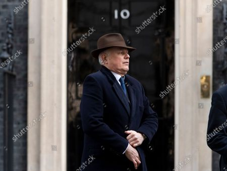 MP's that have had sanctions imposed by China visit PM Boris Johnson in Downing Street. Iain Duncan Smith