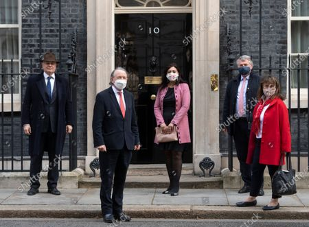 Editorial photo of Politicians on Downing Street, London, UK - 27 Mar 2021