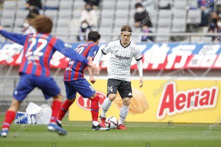 Gotoku Sakai (Vissel) - Football / Soccer : 2021 J. League YBC Levain Cup Group Stage match between FC Tokyo 2-0 Vissel Kobe at Ajinomoto Stadium, Tokyo, Japan.