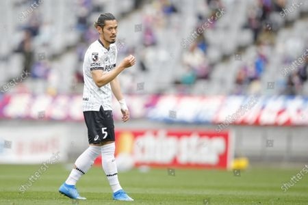 Stock Photo of Hotaru Yamaguchi (Vissel) - Football / Soccer : 2021 J. League YBC Levain Cup Group Stage match between FC Tokyo 2-0 Vissel Kobe at Ajinomoto Stadium, Tokyo, Japan.