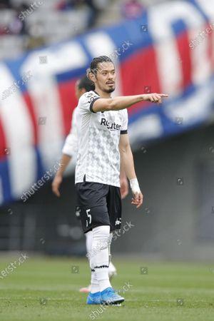 Hotaru Yamaguchi (Vissel) - Football / Soccer : 2021 J. League YBC Levain Cup Group Stage match between FC Tokyo 2-0 Vissel Kobe at Ajinomoto Stadium, Tokyo, Japan.