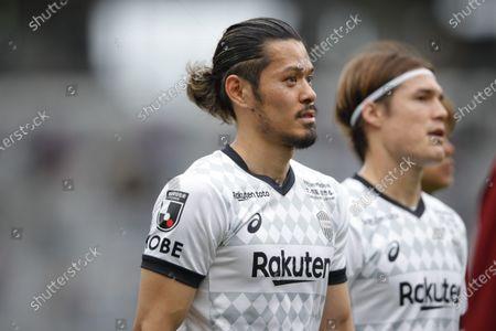 Stock Picture of Hotaru Yamaguchi (Vissel) - Football / Soccer : 2021 J. League YBC Levain Cup Group Stage match between FC Tokyo 2-0 Vissel Kobe at Ajinomoto Stadium, Tokyo, Japan.