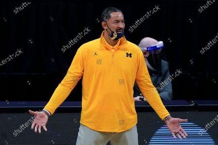 Editorial photo of NCAA UCLA Michigan Basketball, Indianapolis, United States - 30 Mar 2021
