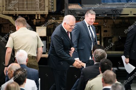 Editorial photo of Opening of Raytheon Australia's Center for Joint Integration, Adelaide - 31 Mar 2021