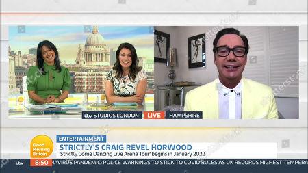 Editorial photo of 'Good Morning Britain' TV Show, London, UK - 31 Mar 2021