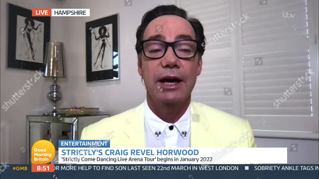 Stock Picture of Craig Revel Horwood