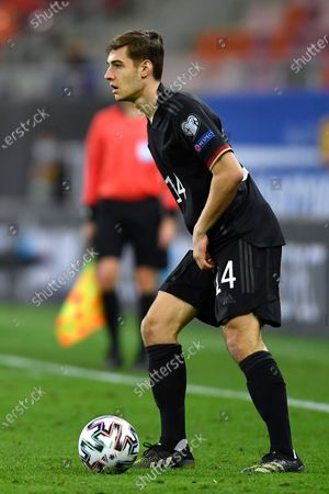 Florian Neuhaus during the game between Romania an Germany, in the World Cup 2022 Qualifiers, at National Arena Bucharest on March 28, 2021 in Bucharest, Romania.