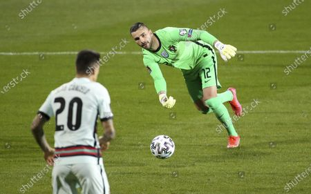 Stock Image of Goalkeeper of Portugal Anthony Lopes