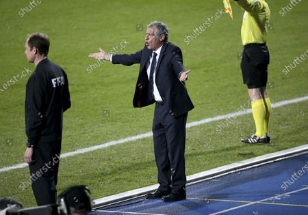 Stock Photo of Coach of Portugal Fernando Santos