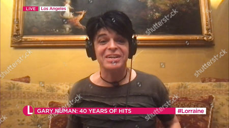 Stock Photo of Gary Numan