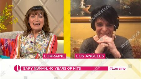 Stock Picture of Lorraine Kelly and Gary Numan