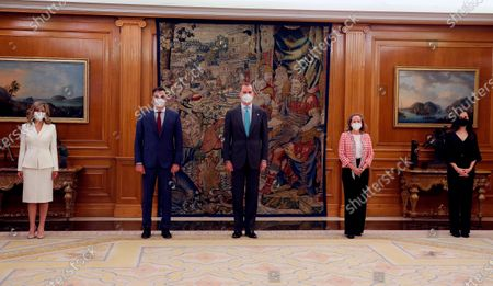 Swearing in of new Spanish Goverment ministers, Madrid