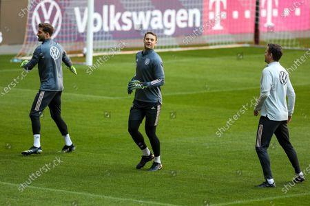 Manuel Neuer (#1 Germany), Oliver Bierhoff (Director of National Teams)