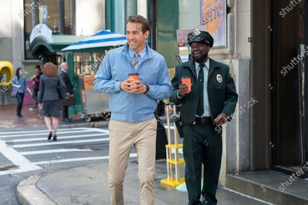Ryan Reynolds and LIL REL HOWERY