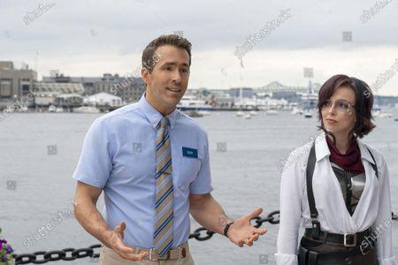 Ryan Reynolds and Jodie Comer