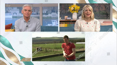 Phillip Schofield, Holly Willoughby and Matt Baker