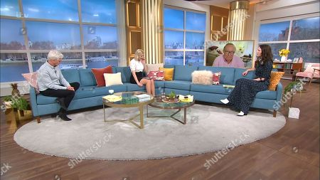 Phillip Schofield, Holly Willoughby, Andrew Neil and Nicola Thorp