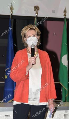 Letizia Moratti vice president of the Lombardy Region
