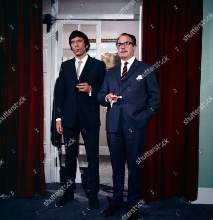Jeff Randall, as played by Mike Pratt, and James Laker, as played by Reginald Marsh