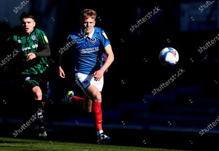 Editorial image of Portsmouth v Rochdale, EFL Sky Bet League One, Football, Fratton Park, Portsmouth, UK - 2 Apr 2021