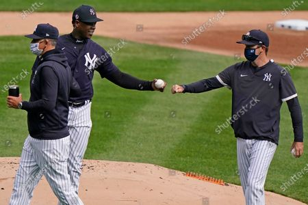 Editorial picture of Yankees Baseball, New York, United States - 31 Mar 2021
