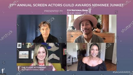 Editorial photo of 27th Annual Screen Actors Guild Awards, Nominees, USA - 31 Mar 2021