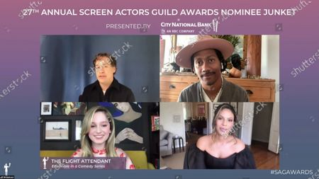 Editorial picture of 27th Annual Screen Actors Guild Awards, Nominees, USA - 31 Mar 2021