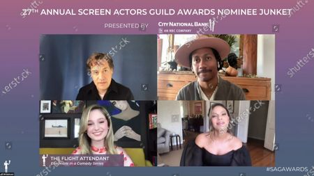 Editorial image of 27th Annual Screen Actors Guild Awards, Nominees, USA - 31 Mar 2021