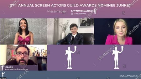 Jessica Frances Dukes, Felix Solis, Skylar Gaertner, Kevin Johnson and Madison Thompson - Ozark - Ensamble in a Drama Series