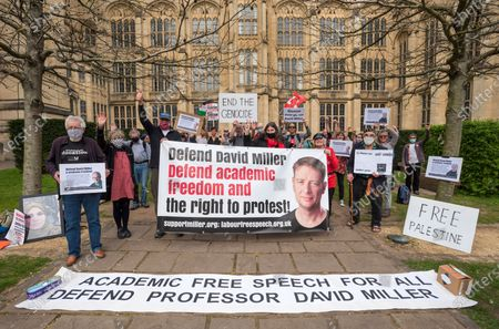 Editorial image of Defend David Miller campaign, Bristol, UK - 31 Mar 2021