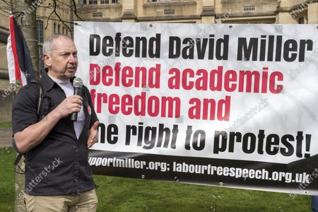 Editorial picture of Defend David Miller campaign, Bristol, UK - 31 Mar 2021