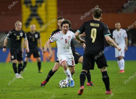 Thomas Delaney of Denmark during Austria and Denmark on Ernst-Happel-Stadion stadium, Vienna, Austria