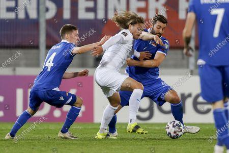 Editorial photo of Liechtenstein vs Iceland, Vaduz - 31 Mar 2021