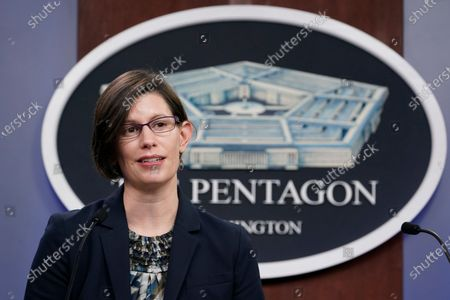 Editorial picture of Pentagon Kirby, Washington, United States - 31 Mar 2021