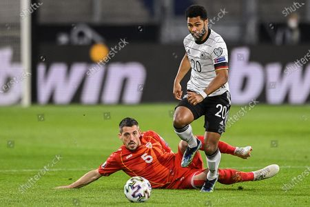 Editorial picture of Germany Duisburg Football Fifa 2022 World Cup Qualifiers Germany vs North Macedonia - 31 Mar 2021