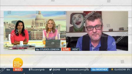 Editorial photo of 'Good Morning Britain' TV Show, London, UK - 01 Apr 2021