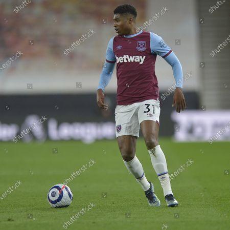 Ben Johnson of West Ham United in action