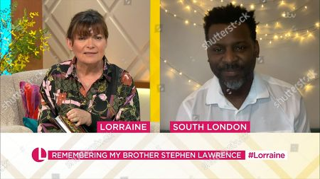 Stock Photo of Lorraine Kelly, Stuart Lawrence