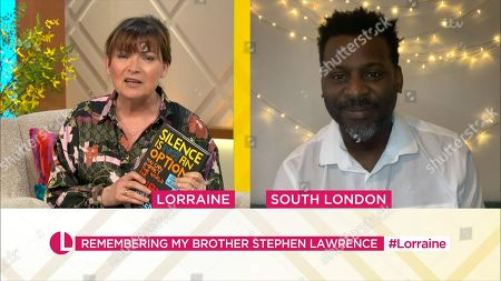 Editorial picture of 'Lorraine' TV Show, London, UK - 01 Apr 2021