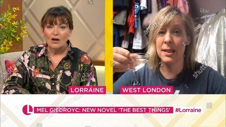 Lorraine Kelly, Mel Giedroyc