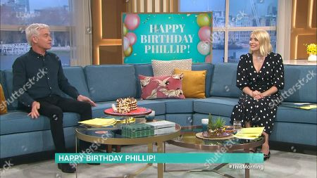 Stock Image of Phillip Schofield, Holly Willoughby