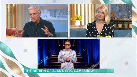 Holly Willoughby, Phillip Schofield, Alan Carr