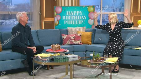 Stock Photo of Phillip Schofield, Holly Willoughby