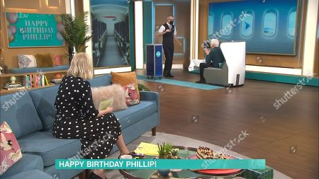 Editorial image of 'This Morning' TV Show, London, UK - 01 Apr 2021
